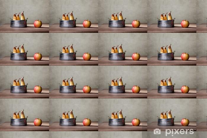Vinyltapete nach Maß Äpfel und Birnen - Gerichte