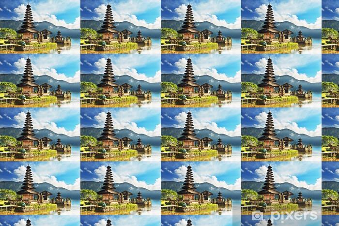 Papier peint vinyle sur mesure Pura Ulun Danu - Asie