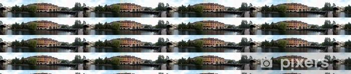 Papier peint vinyle sur mesure Canal Cityscape - Vente