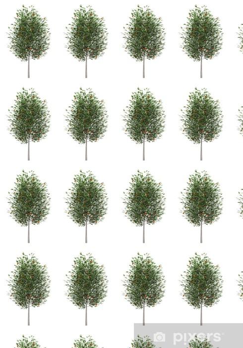 Tapeta na wymiar winylowa Europejskiej jarzębina na białym tle - Drzewa