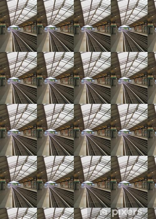 Papier peint vinyle sur mesure Paris métro le dimanche - Thèmes