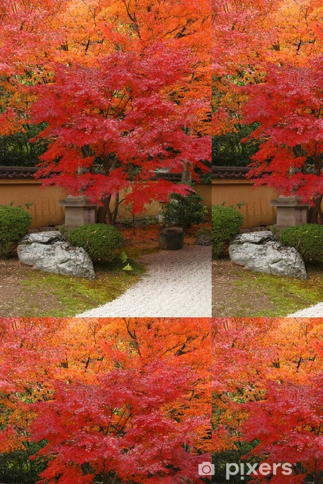 Carta da Parati a Motivi in Vinile Giappone in autunno - Temi