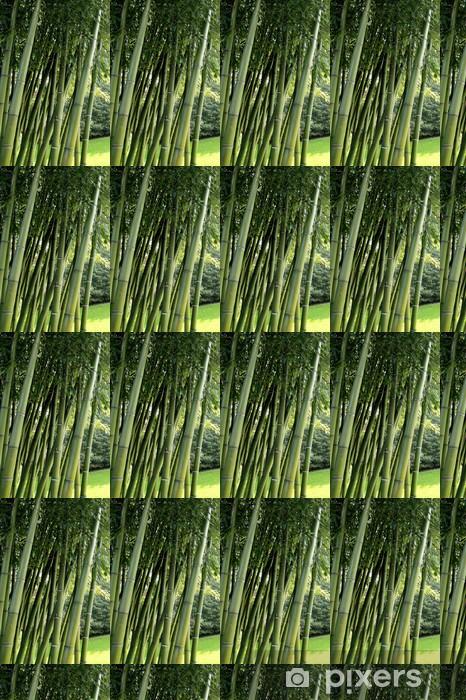 Papier peint vinyle sur mesure Giardino di bambù - Merveilles naturelles