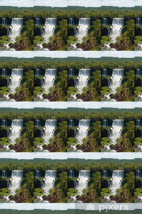Papier peint vinyle sur mesure Chutes d'Iguazu en Argentine - Campagne