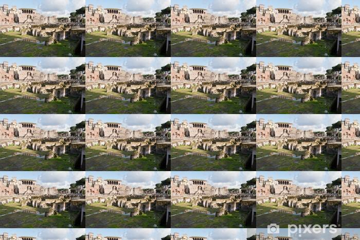 Tapeta na wymiar winylowa Forum Romano, Rzym, Włochy. - Tematy