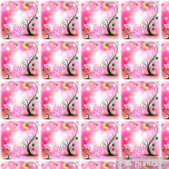 Tapeta na wymiar winylowa Wróżka różowe kwiaty - Przeznaczenia