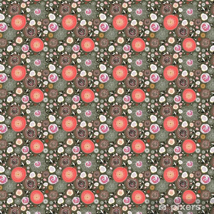 Tapeta na wymiar winylowa Kwiatowy wzór - Tekstury