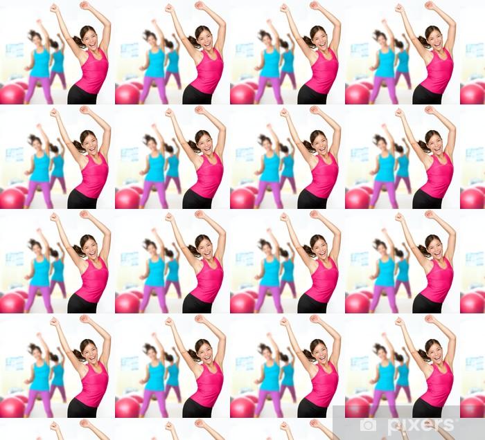 Vinylová tapeta na míru Fitness taneční zumba class - Zdraví