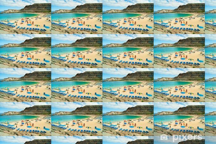Amadores Beach Gran Canaria Wallpaper Vinyl Custom Made