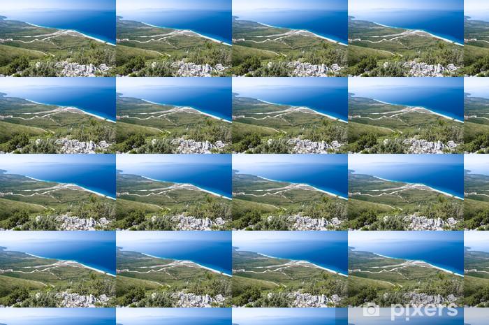 Papier peint vinyle sur mesure Côte d'Albanie du Sud - Europe