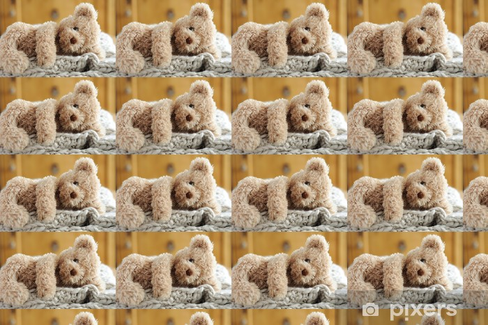 Vinyltapete nach Maß Teddy liegend - Spiele