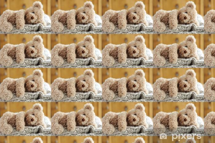 Tapeta na wymiar winylowa Teddy leżący - Gry