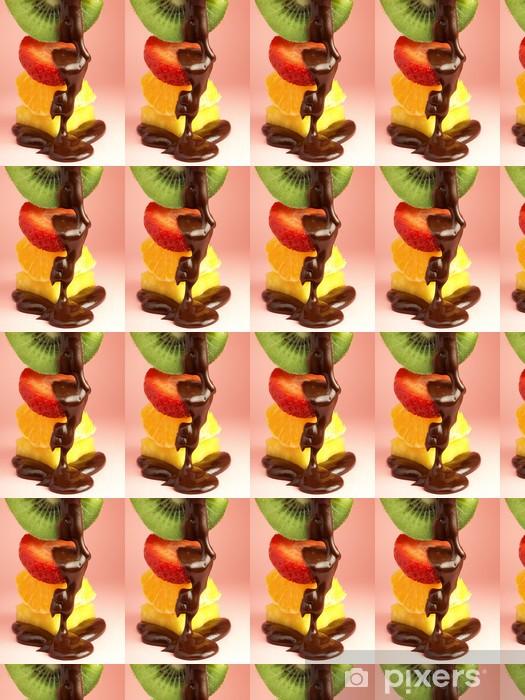 Tapeta na wymiar winylowa Owoce zanurzone w czekoladzie - Tematy