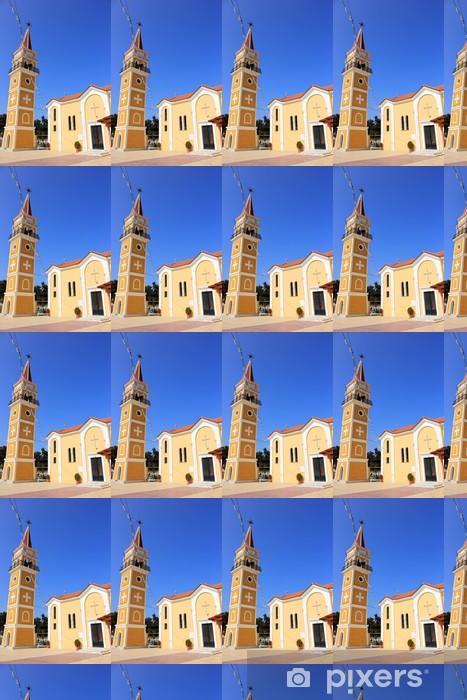 Vinylová tapeta na míru Hlavní kostel v obci Argassi, Zakynthos, Řecko - Prázdniny