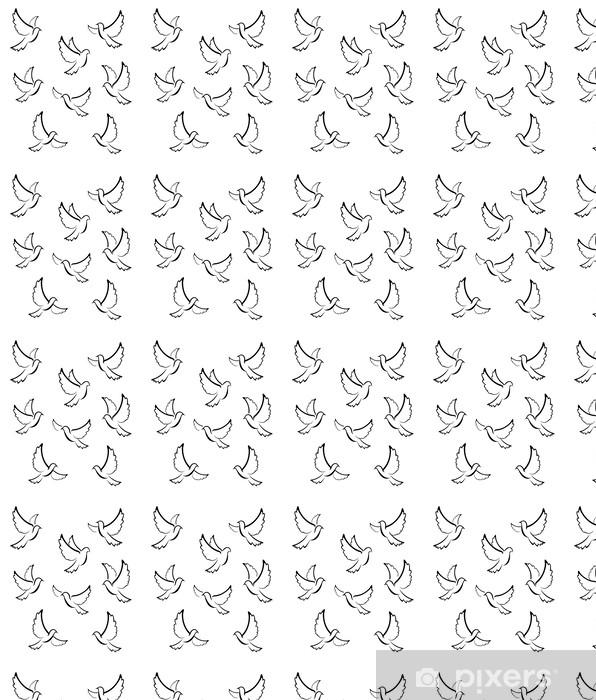 Tapeta na wymiar winylowa Symbol Dove - Ptaki