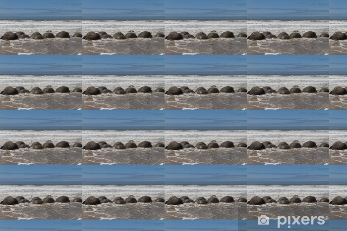 Tapeta na wymiar winylowa Rochers de skały głazy w Moeraki - Oceania