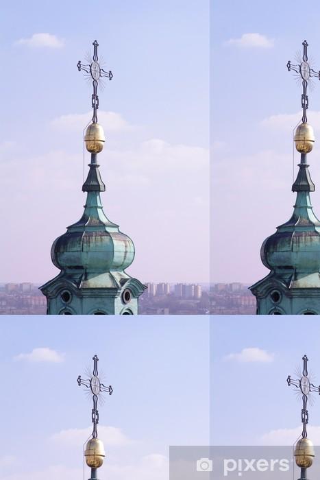 Vinyltapet Archikatedra Jana Chrzciciela Lublin wieża - Europa