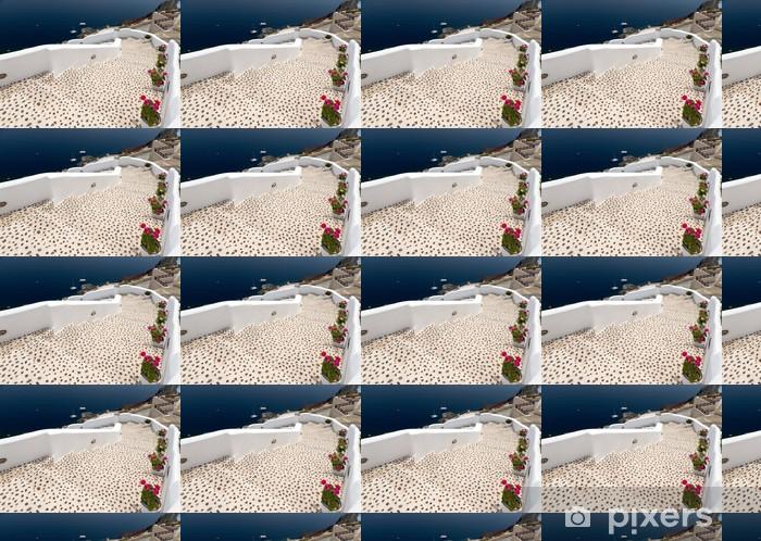 Papier peint vinyle sur mesure Leopard escalier à la mer - Thèmes