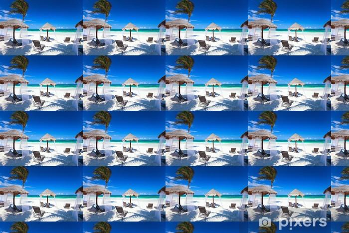 Carta da parati in vinile su misura Costa caraibica - Acqua