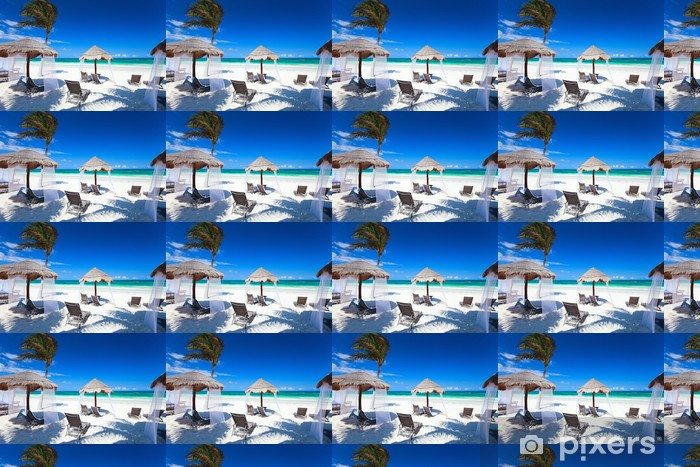 Vinyltapete nach Maß Karibikküste - Wasser