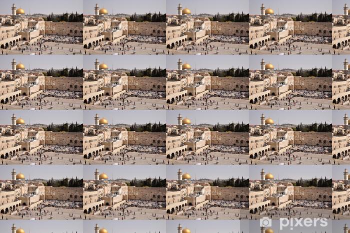 Papier peint vinyle sur mesure Jérusalem - Klagemauer - Moyen Orient