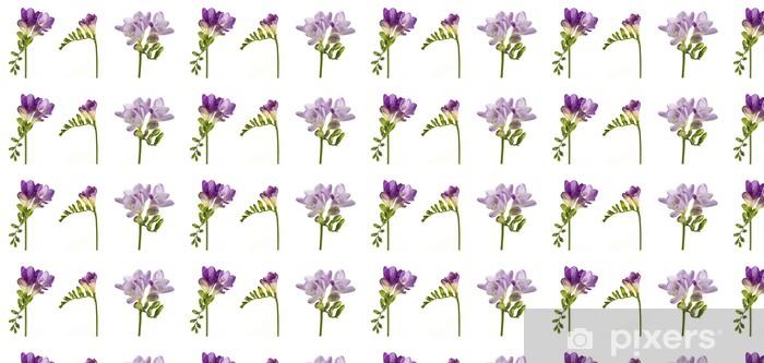 Vinyltapete nach Maß Freesia - Blumen