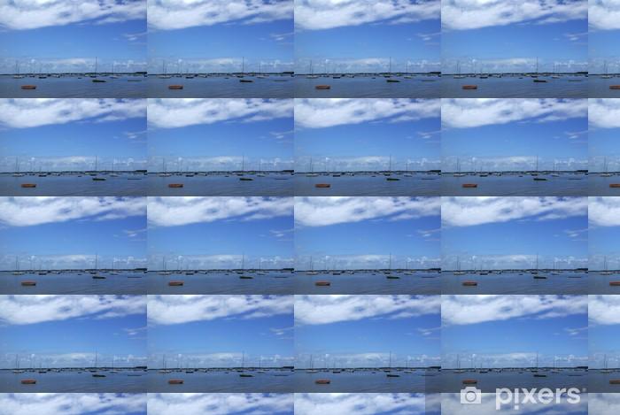 Tapeta na wymiar winylowa Niebieski na niebiesko - Niebo