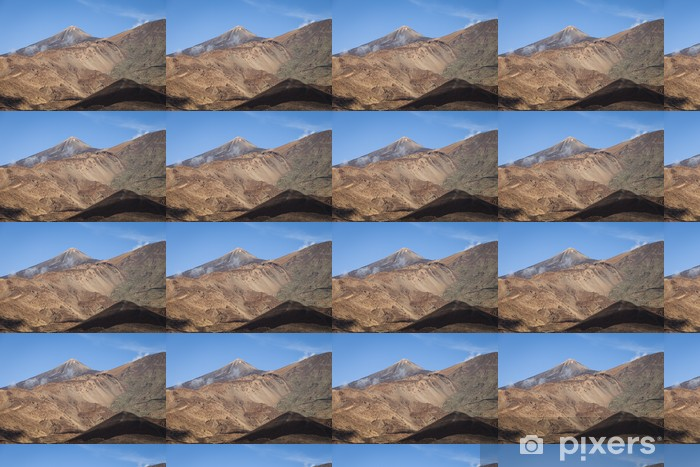 Papier peint vinyle sur mesure Teide - Nature et régions sauvages