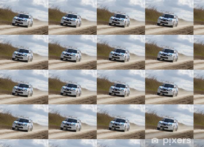 Carta da parati in vinile su misura Rallye - Sport all'Aperto
