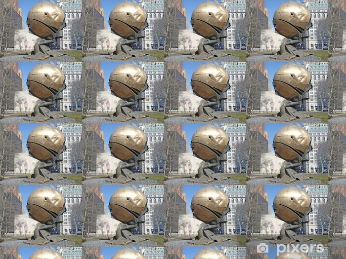 Papier peint vinyle sur mesure Tours jumelles monument - Matières premières
