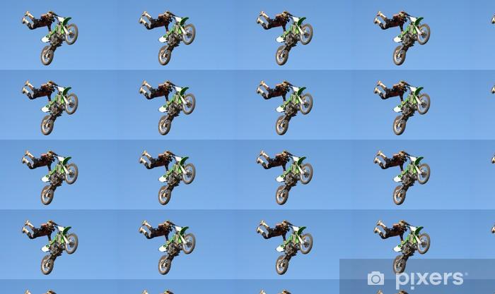 Vinyltapete nach Maß Motocross Stunt - Straßenverkehr