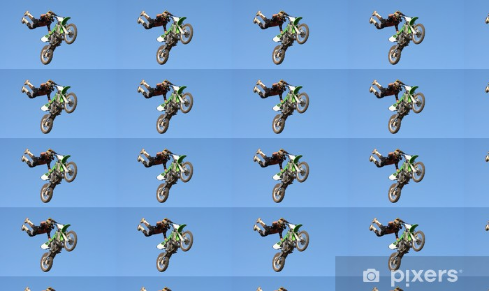 Tapeta na wymiar winylowa Motocross Stunt - Transport drogowy