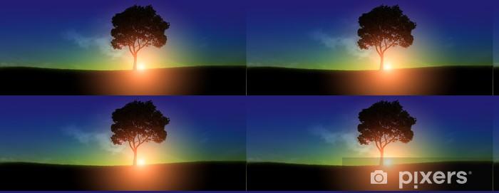 Vinylová Tapeta Východ slunce - Nebe
