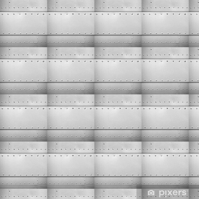 Vinyltapete nach Maß Stahl-Vorlage - Rohstoffe