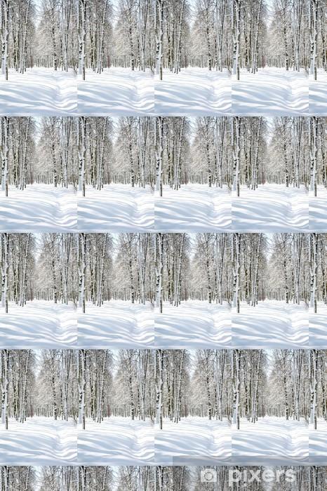 Papier peint vinyle sur mesure Belle Avril Birch Grove - Thèmes