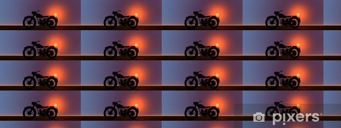 Vinylová tapeta na míru Motocykl - Na cestě