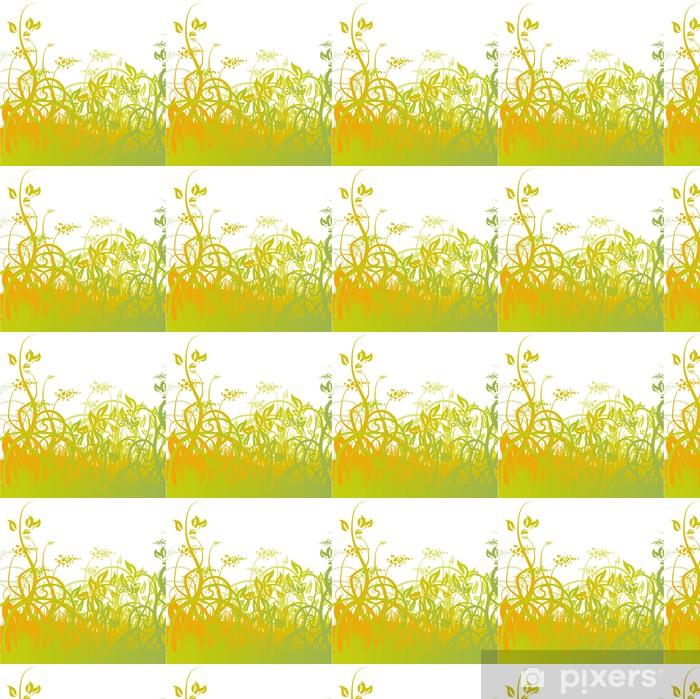 Vinyltapete nach Maß Grashalme-02 - Pflanzen