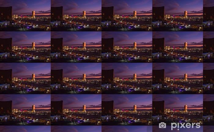 Las Vegas and Trump Tower Vinyl custom-made wallpaper - Las Vegas