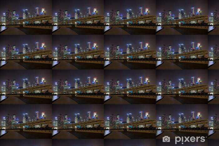 Tapeta na wymiar winylowa Marina Bay, Singapur nocą - Tematy