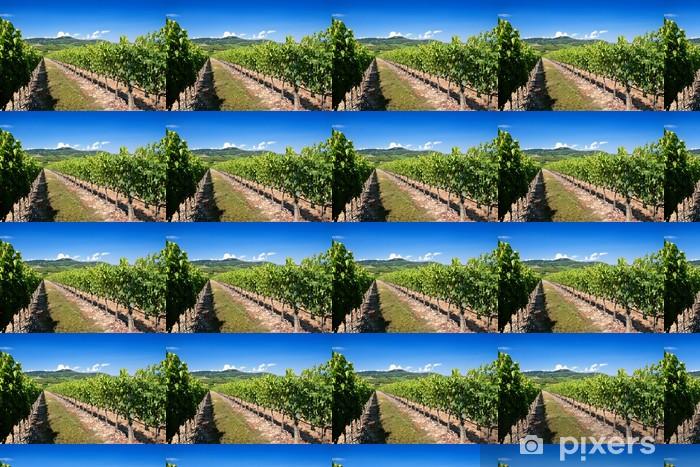 Vinyl behang, op maat gemaakt Toscane wijngaard - Thema's