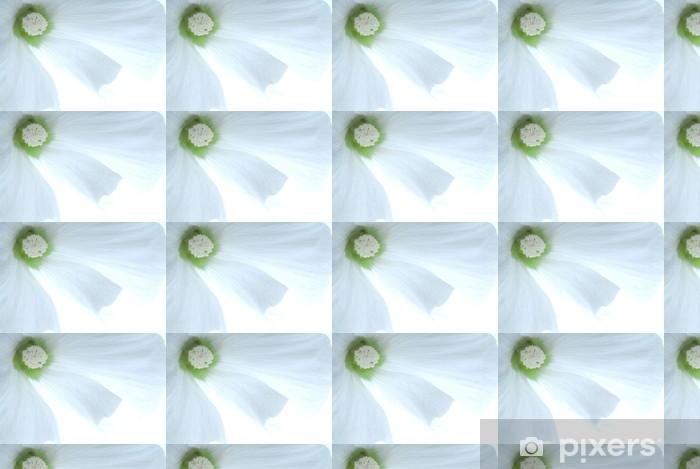 white flower Vinyl custom-made wallpaper - Flowers