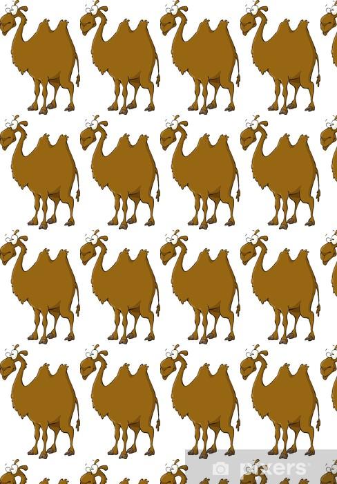 Vinyl behang, op maat gemaakt Camel - Zoogdieren