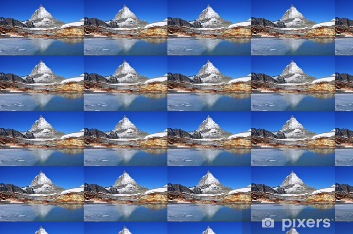 Matterhorn Räätälöity vinyylitapetti - Vuoret