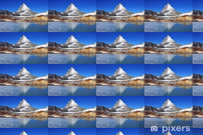 Matterhorn Vinyl custom-made wallpaper - Mountains