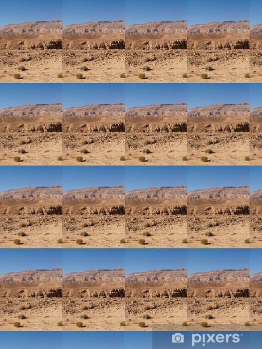 Vinylová tapeta na míru Desert Scenic pouštní krajiny v Machteš Katan v Negevu - Střední Východ