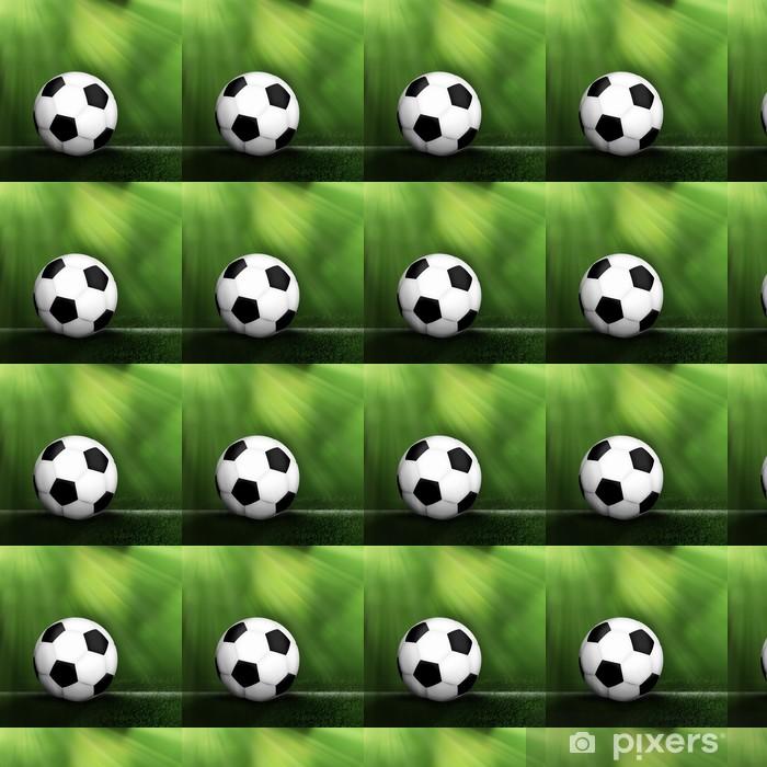 Papier peint vinyle sur mesure Soccer ball fond - Arrière plans