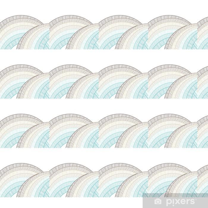 Papier peint vinyle sur mesure Fond abstrait de cercle. élément de vecteur pour la conception. - Styles
