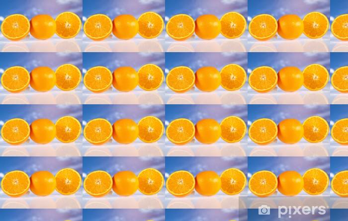 Vinylová tapeta na míru Oranžové plody - Ovoce