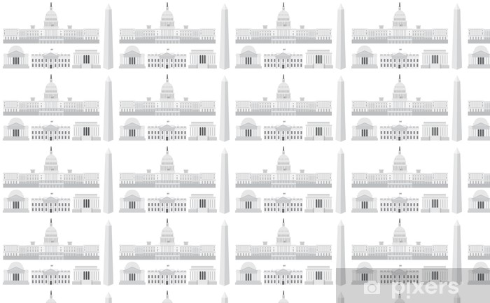 Papel pintado estándar a medida Washington DC Capitol Edificios y Monumentos - Ciudades norteamericanas