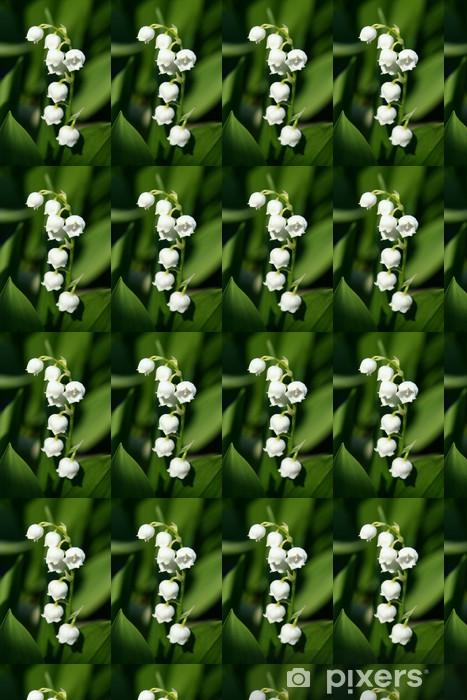 Vinyltapete nach Maß Maiglöckchen - Blumen